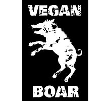 Vegan boar Photographic Print