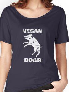 Vegan boar Women's Relaxed Fit T-Shirt