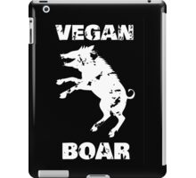 Vegan boar iPad Case/Skin