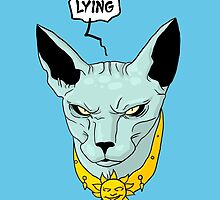 Lying Cat - Saga by BovaArt