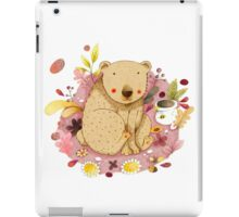 Bear with Honey-Pot iPad Case/Skin