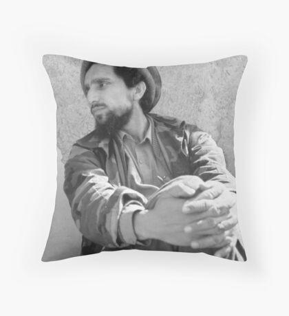 SHIR E PANJSHIR Throw Pillow