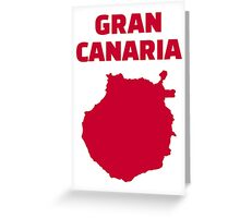 Gran Canaria Greeting Card