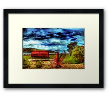 A Fantastic View Framed Print