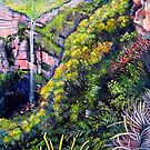 Govetts Leap Falls, Blue Mountains by © Linda Callaghan