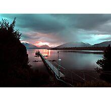 Te Anau, South Island, New Zealand. Photographic Print