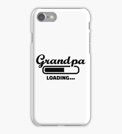 Grandpa loading iPhone Case/Skin