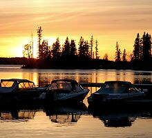 Sunset Bay by Vickie Emms