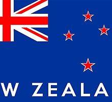flag of New Zealand by tony4urban