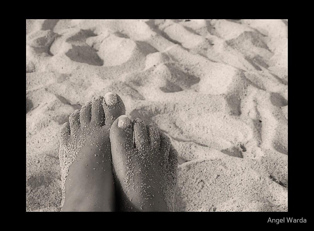 Sandy Feet by Angel Warda
