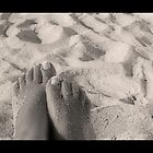 Sandy Feet by Angel Warda