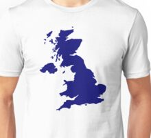 Great Britain Map Unisex T-Shirt