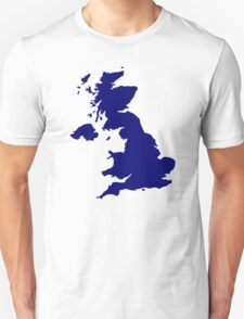 Great Britain Map T-Shirt