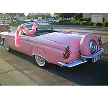 1956 PINK T-Bird! Photographic Print