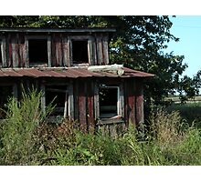 Little Red Hen House Photographic Print