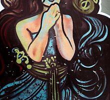 Graffiti Women by Rosina  Lamberti