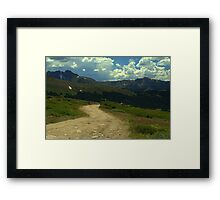 On Hagerman Pass Framed Print