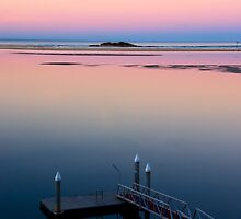 Pastel Pier by Natsky