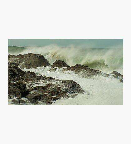 Wind spray Photographic Print