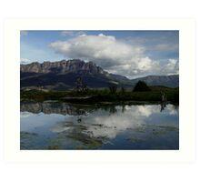 photoj Tas Mt Roland Art Print