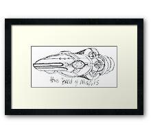 Band of Misfits Ship Concept Art Framed Print