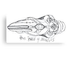 Band of Misfits Ship Concept Art Canvas Print
