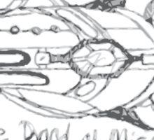 Band of Misfits Ship Concept Art Sticker