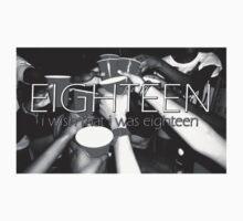 eighteen // 5sos - first line Baby Tee