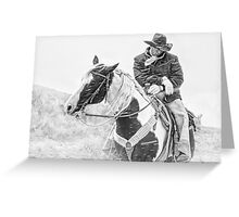 Snow Squall Greeting Card