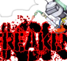 Freaken Fricken Sticker