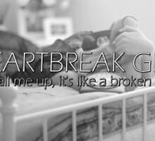 heartbreak girl // 5sos - first line by cassieblvd