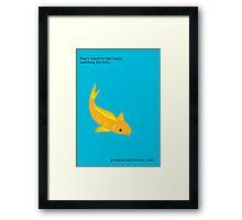 Longing for Fish Framed Print