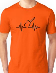 Electric guitar frequency Unisex T-Shirt