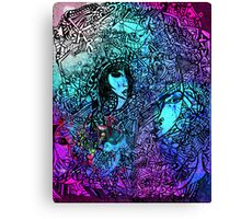 Life is coloured 1 Canvas Print