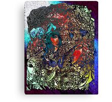 Life is Coloured 3 Canvas Print