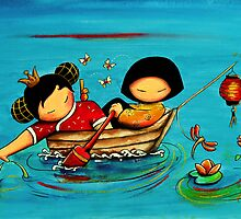 Lotus Love by © Karin (Cassidy) Taylor