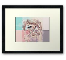 Blushing Daisies  Framed Print
