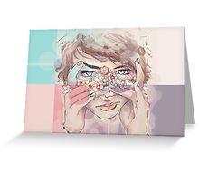 Blushing Daisies  Greeting Card