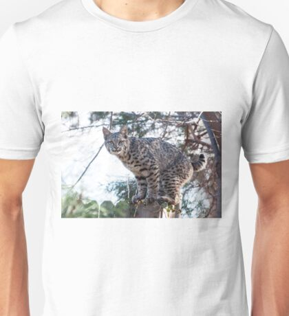 Grumpy on the fence Unisex T-Shirt