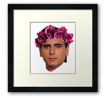 Scott Flower Crown Framed Print
