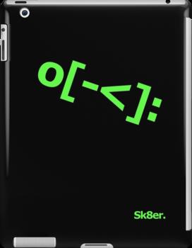 Skater Emoticon by jezkemp