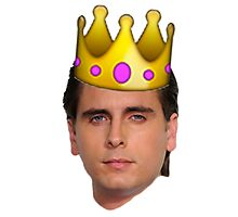 Scott Emoji Crown Photographic Print