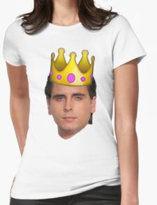 Scott Emoji Crown Womens Fitted T-Shirt