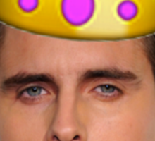 Scott Emoji Crown Sticker
