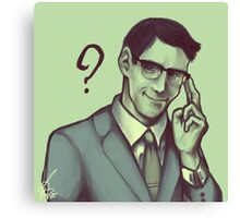 Edward Nygma Canvas Print
