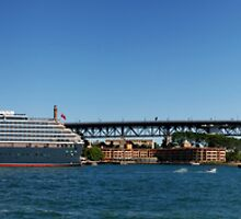 Queen Victoria & Harbour Bridge by andreisky