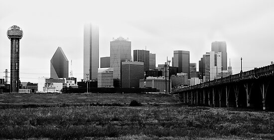 It's a Cloudy Afternoon in the Lonestar State by Marc Payne Photography