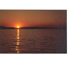 Sunset #3     Vancouver Island Photographic Print