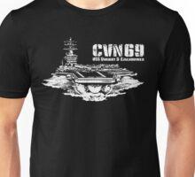USS Dwight D. Eisenhower CVN-69 Unisex T-Shirt