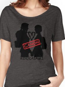 Official Korrasami CANON stamp Women's Relaxed Fit T-Shirt